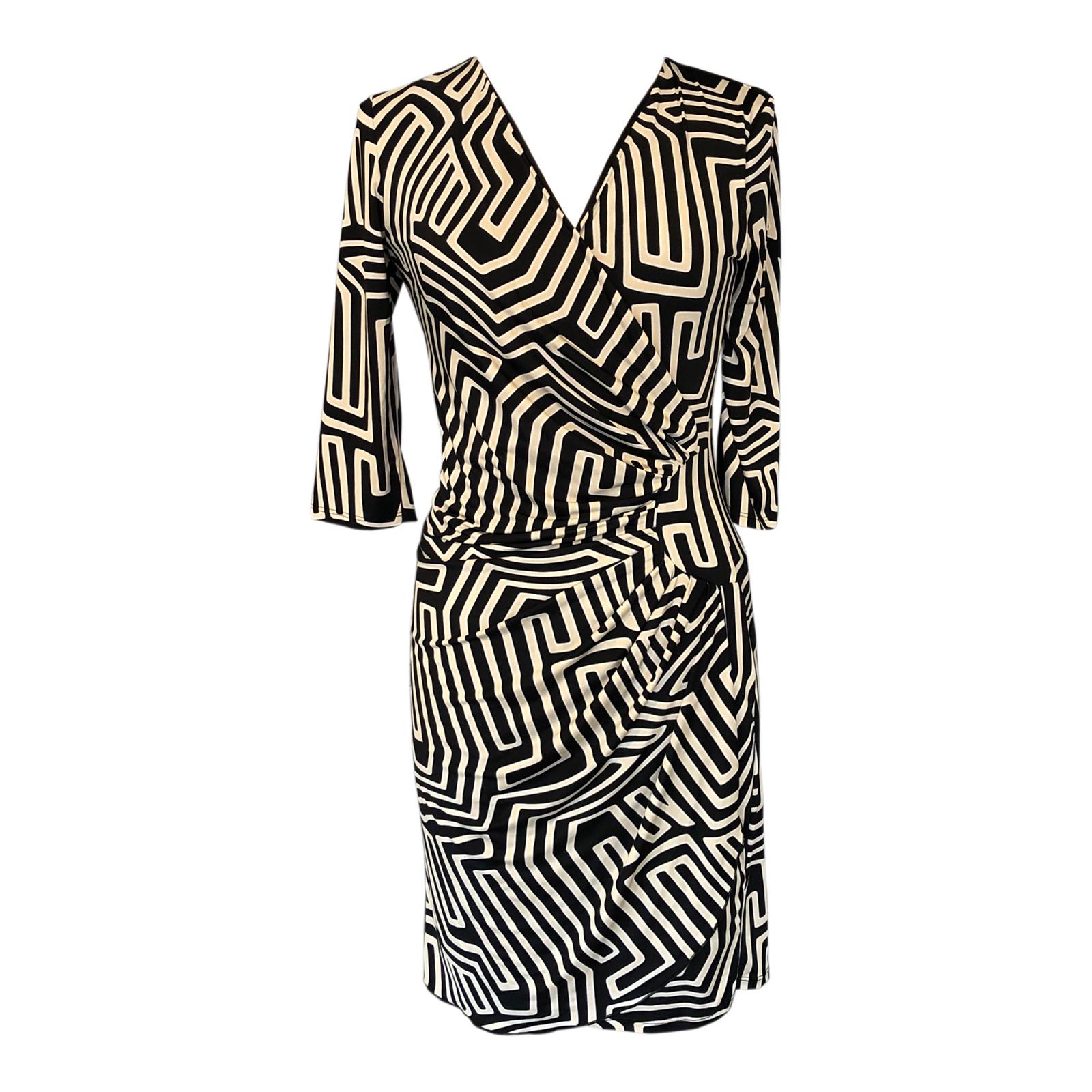 Draperet kjole