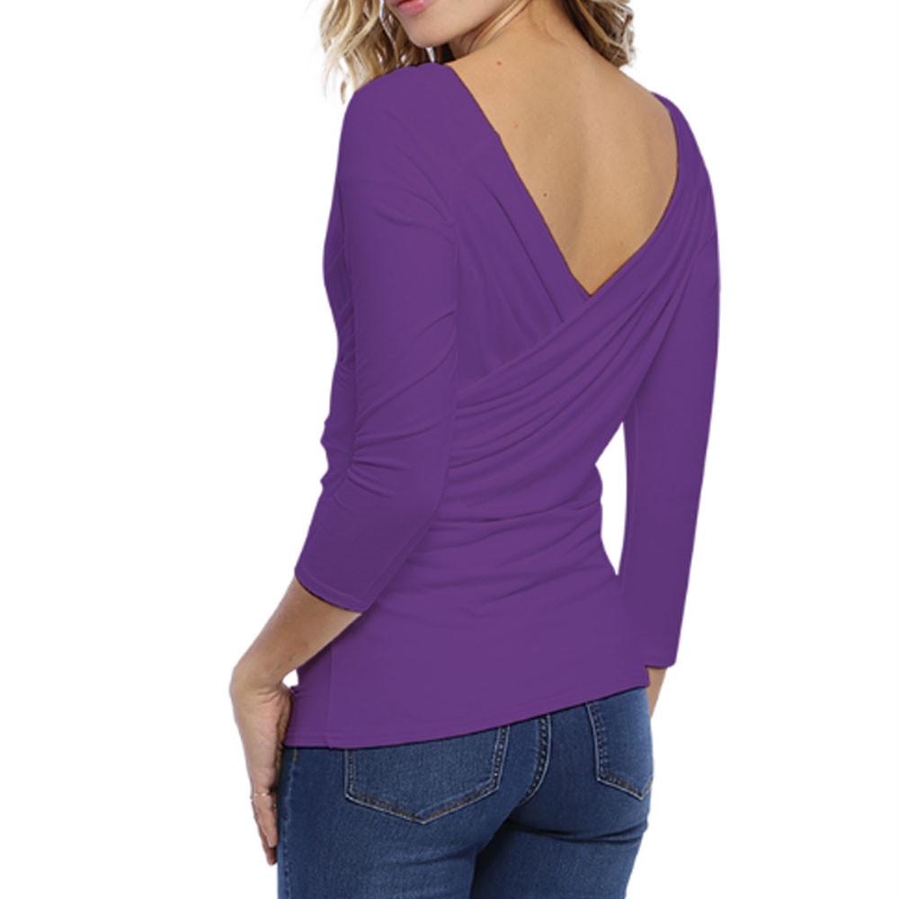 A draperet bluse