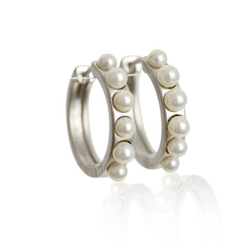 A Ørering sølv perler