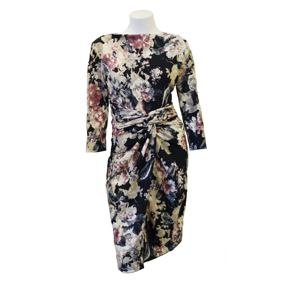 Figursyet kjole blomst