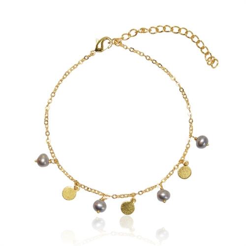 A Armbånd - mønt og perle
