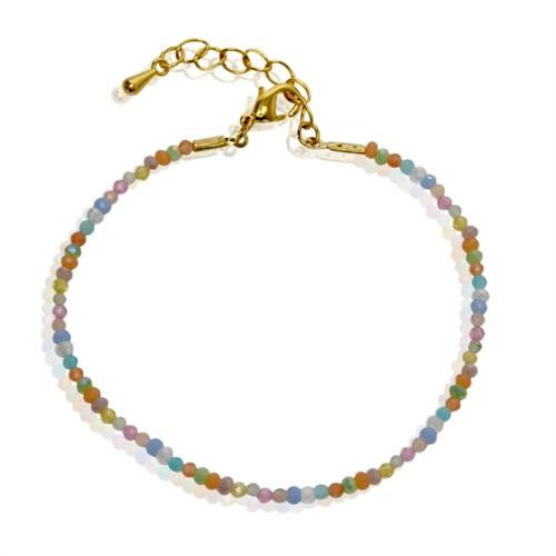 A Armbånd lyse perler