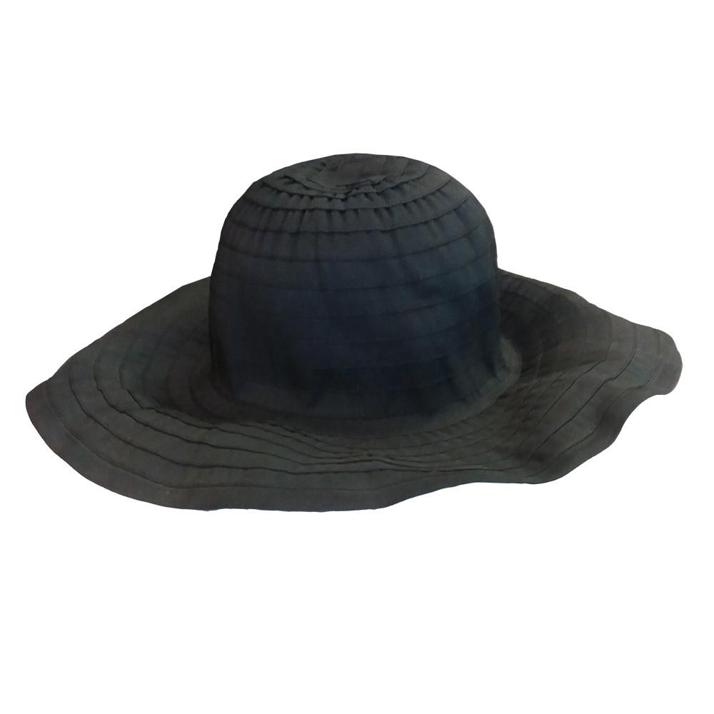 Hat med bøjelig skygge