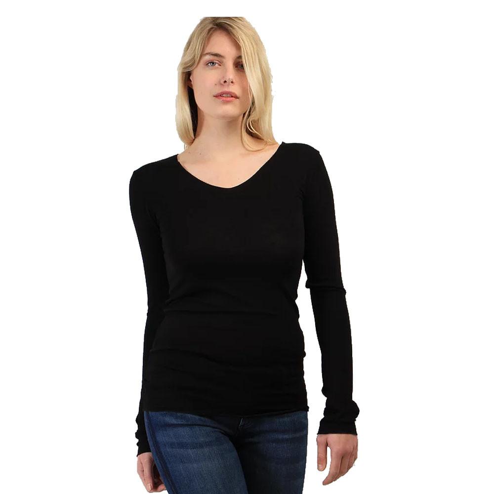 Basic bluse lange ærme