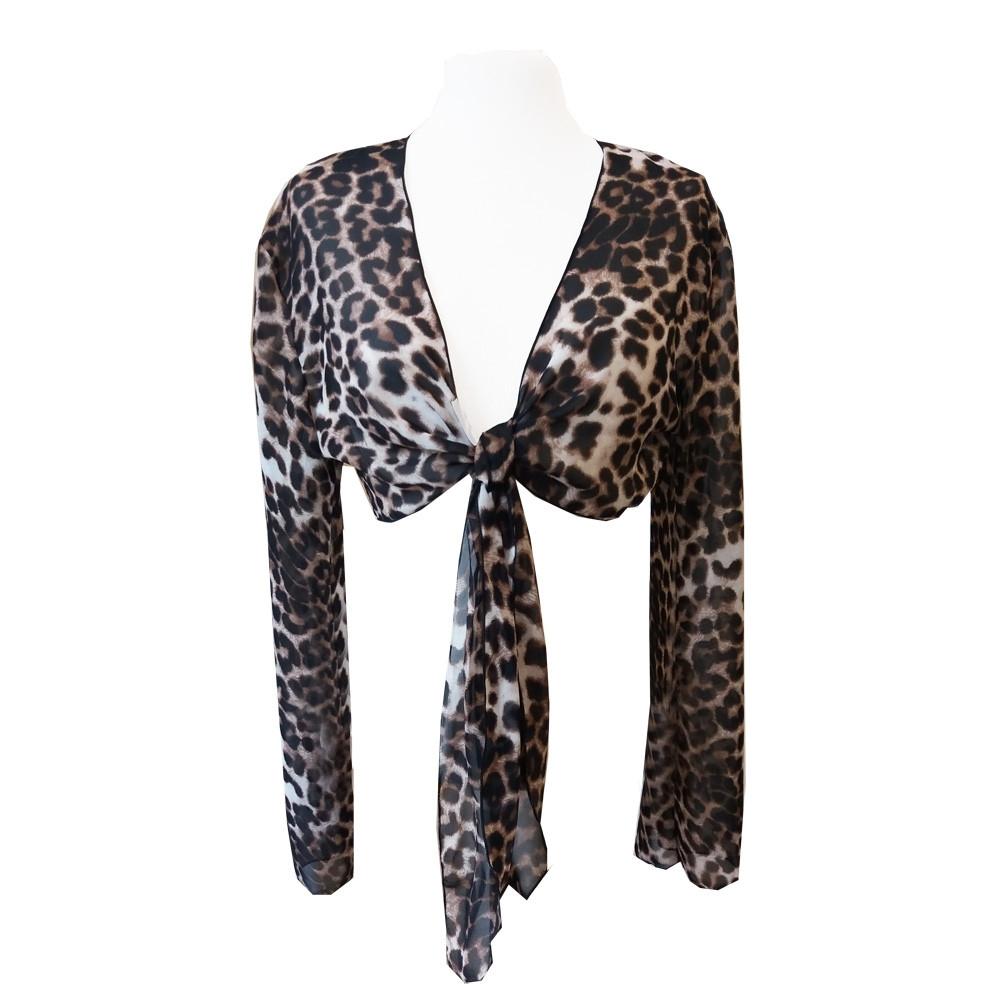 Chiffonbolero leopard