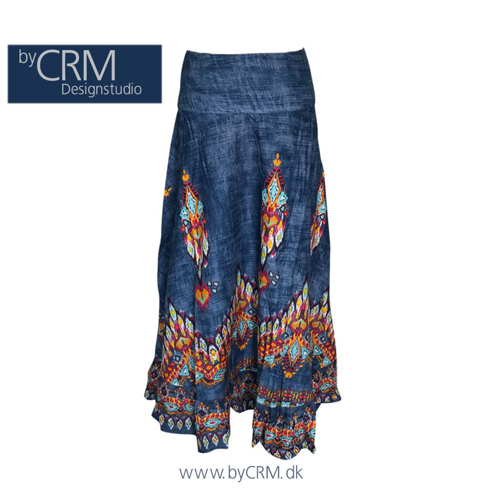 A-snit lang nederdel