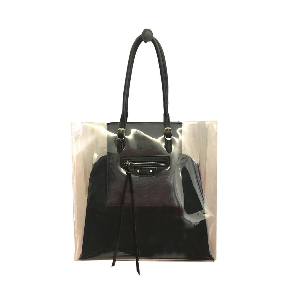 Håndtaske transparent