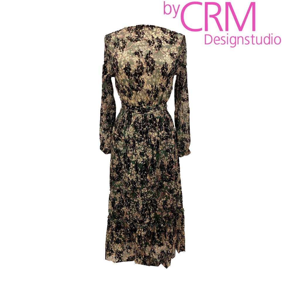A byCRM kjole print