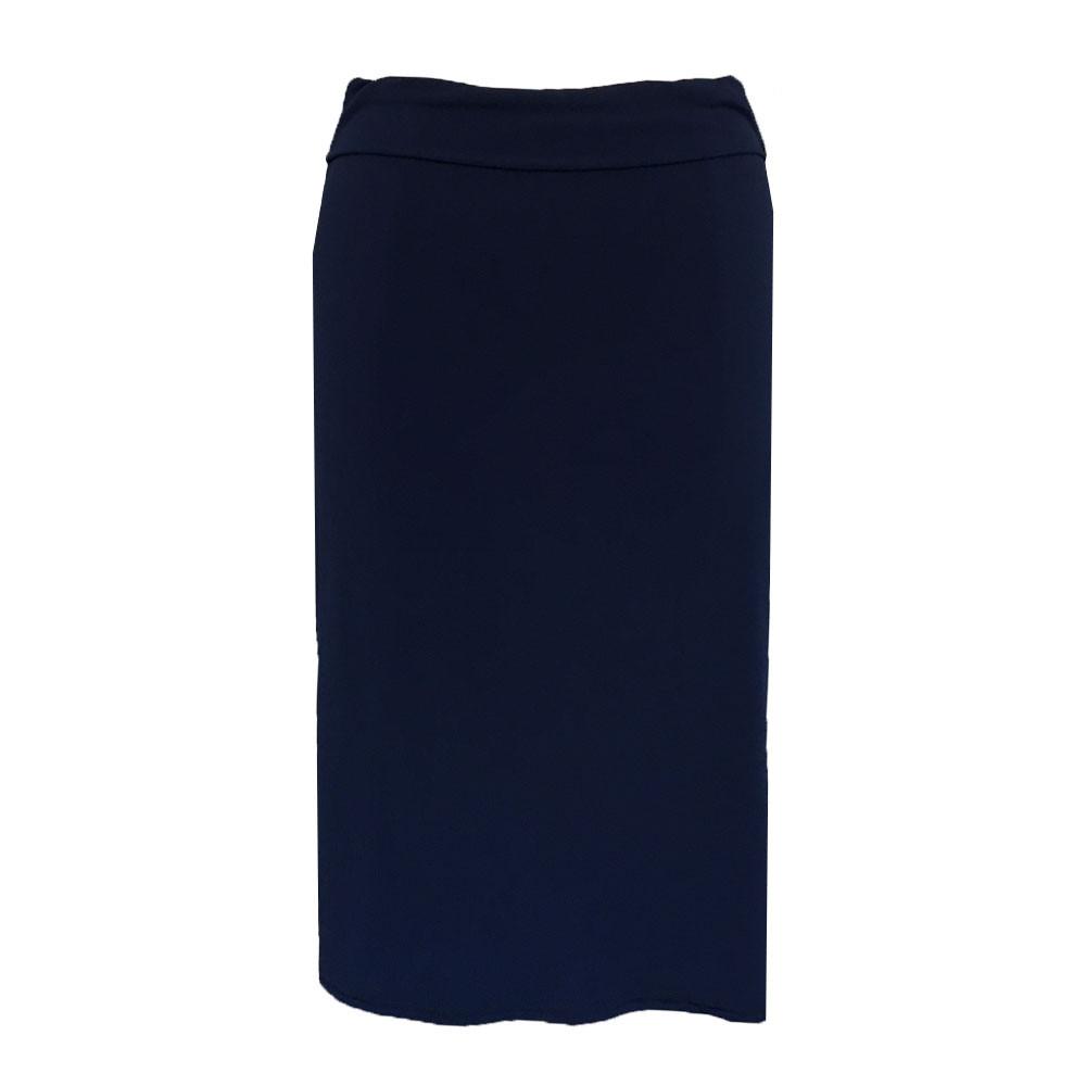 Nederdel blå draperet