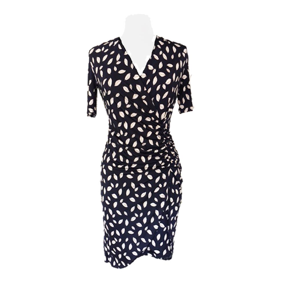 Nuni kjole Blå print