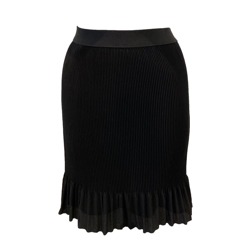 Plisseret nederdel