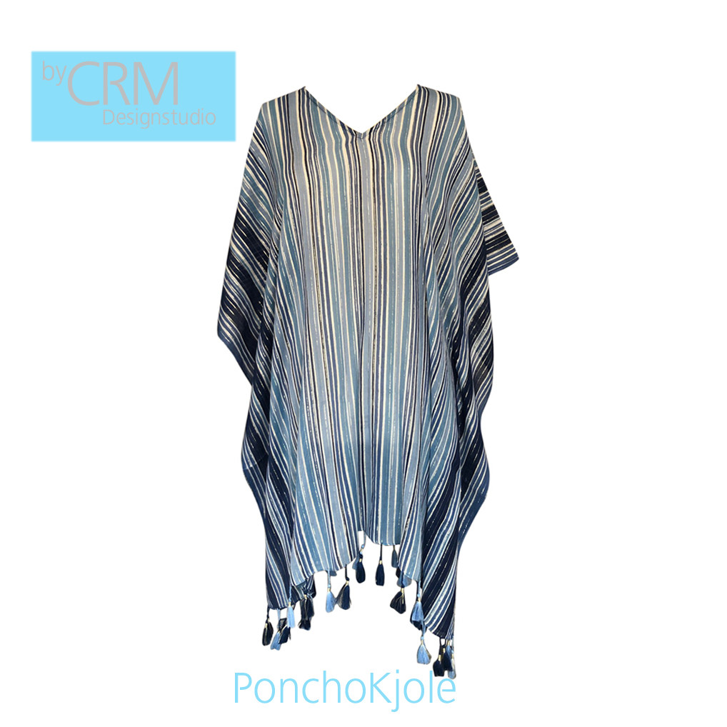 Poncho kjole