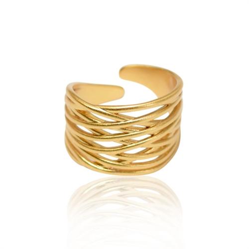 A Ring - snoet - guld