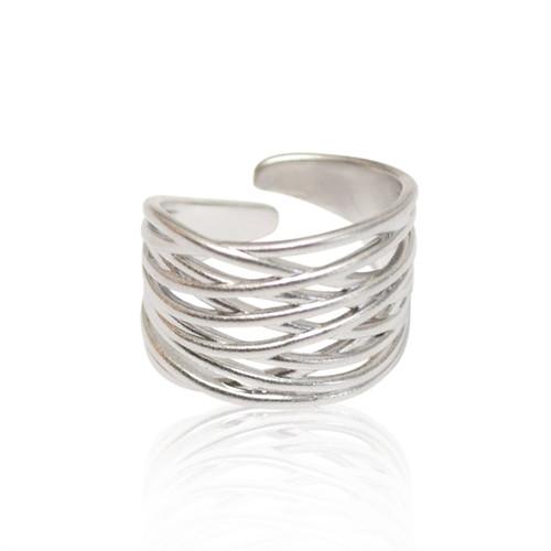 A Ring - snoet - sølv