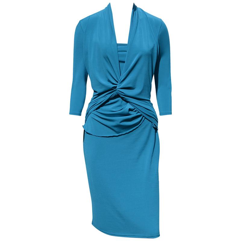A draperet kjole