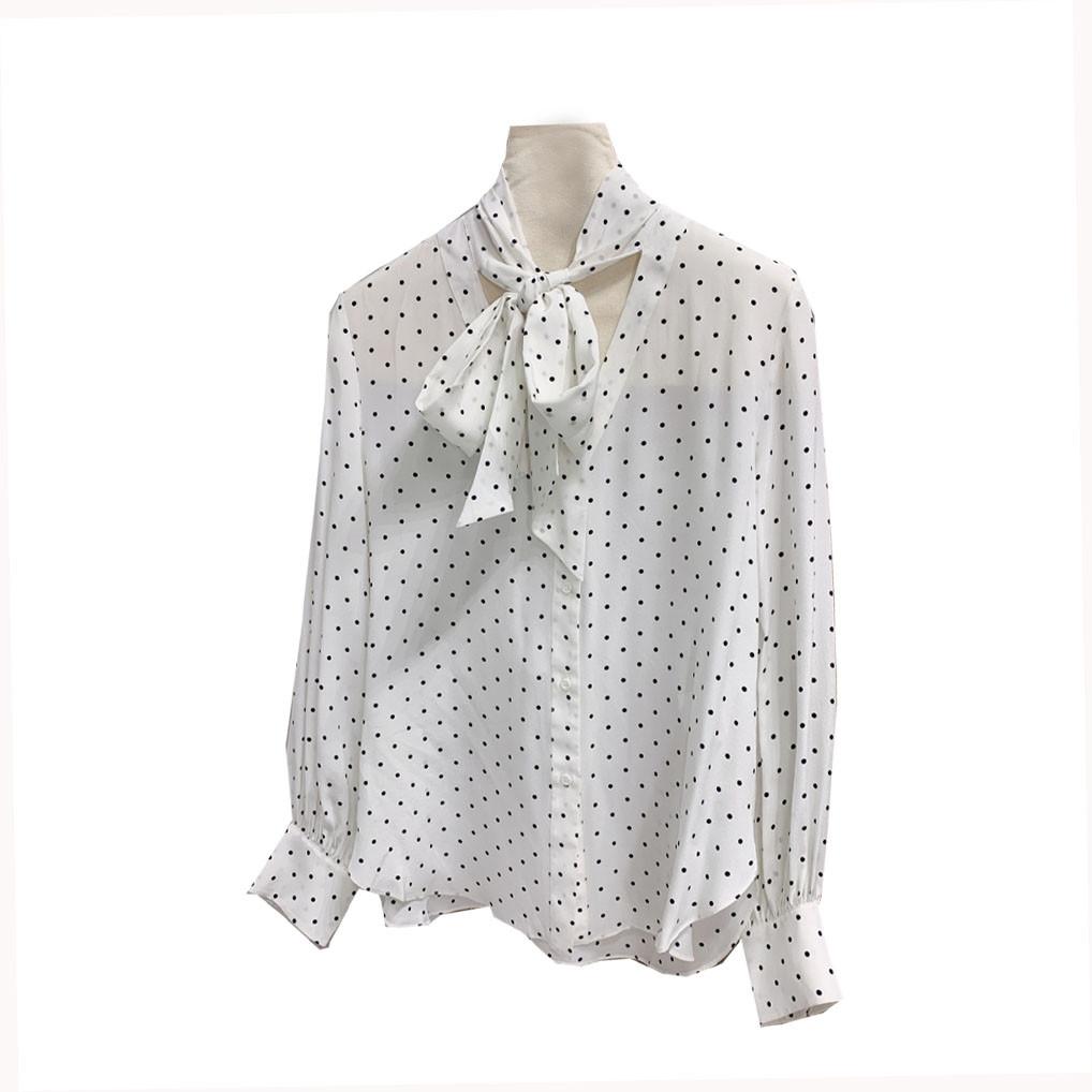 A A bluse silke