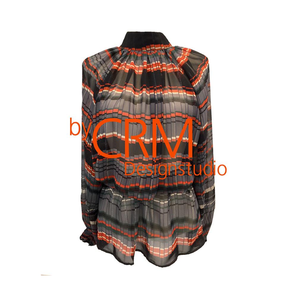 A. Chiffon skjorte