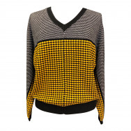 Bluse tweed