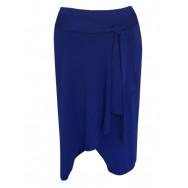 Stretch Nederdel Blå