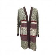 Lang cardigan/jakke