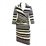 Stribet Donna kjole