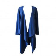A cardigan lang blå