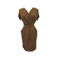 A byCRM talje kjole print