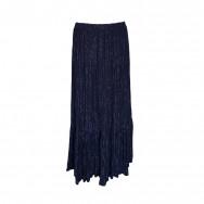 Flæs nederdel lang