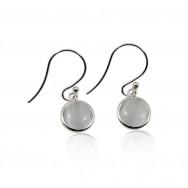 A ørering moon sølv
