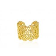 A Ring i guld gitter