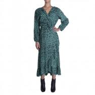A byCRM petrol kjole