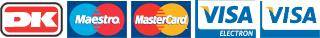 Betal med disse kreditkort